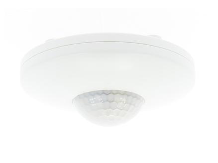 Profile capteur de mouvement apparent 360° blanc
