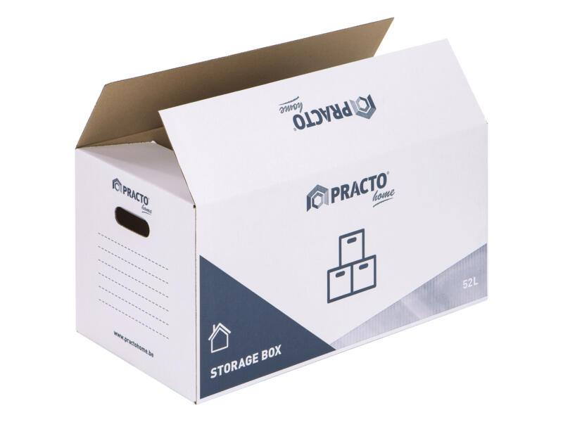 Practo Home carton de déménagement 60x30x30 cm