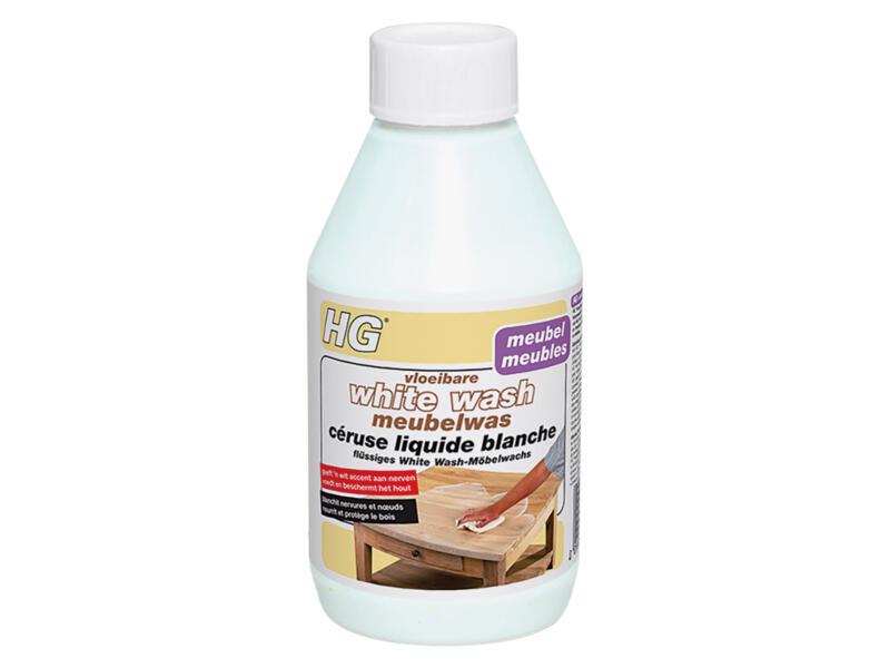 HG céruse liquide 300ml white wash