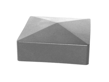 Giardino chapeau poteau carré 60mm gris