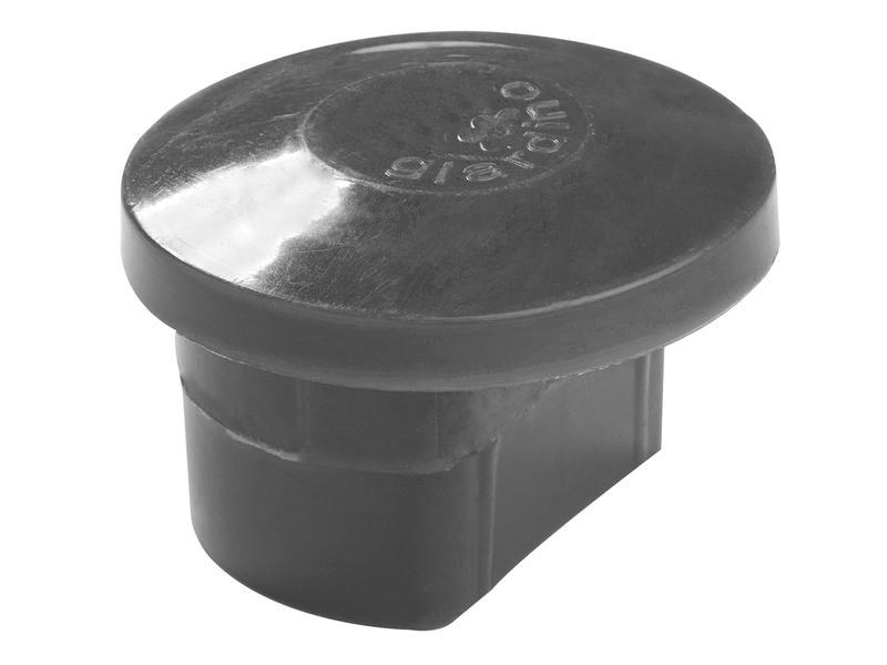 Giardino chapeau poteau profilé 48mm anthracite