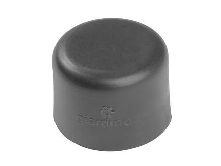 Giardino chapeau poteau rond 48mm gris