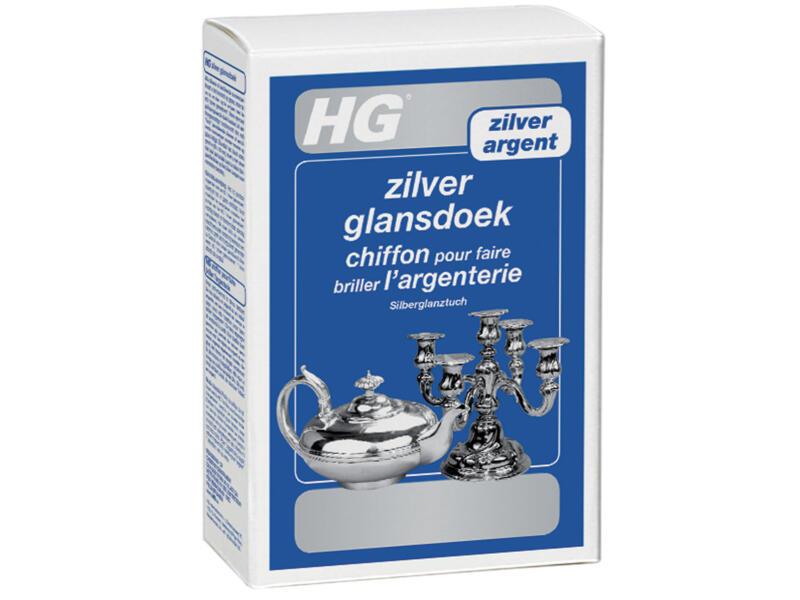 HG chiffon brillance argenteries