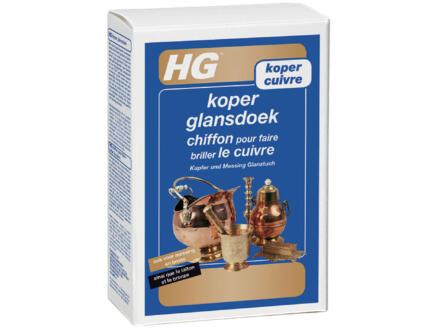 HG chiffon brillance cuivre