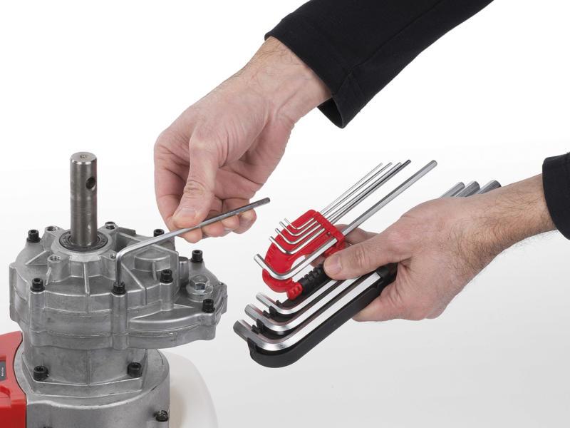 Kreator clé à six pans 1,5-10 mm 9 pièces