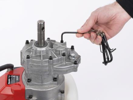 Kreator clé à six pans hex 1,5-6 mm 8 pièces
