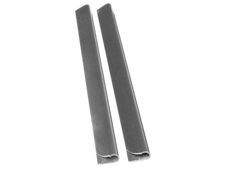Giardino clip lanière de clôture 190mm 25 pièces gris