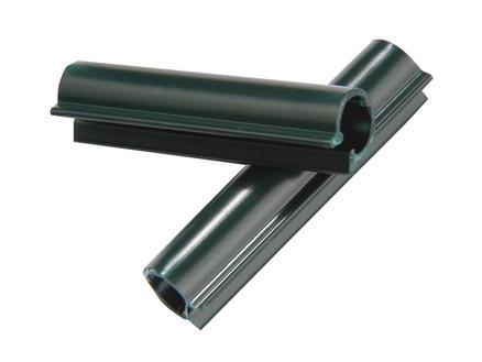 Giardino clip lanière de clôture 47mm 100 pièces vert