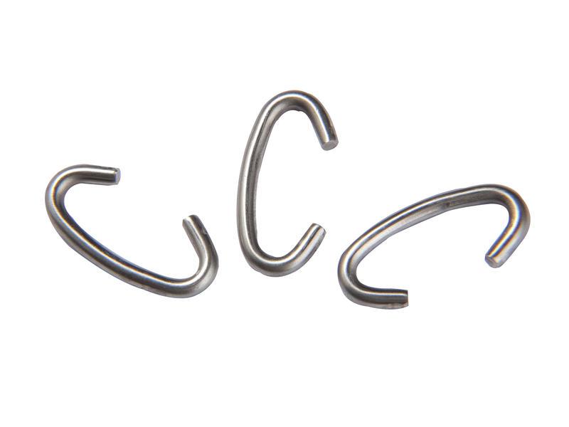 Giardino clip profielpaal 3mm 100 stuks