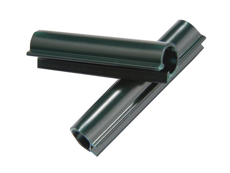 Giardino clip voor lint 50mm 100 stuks groen