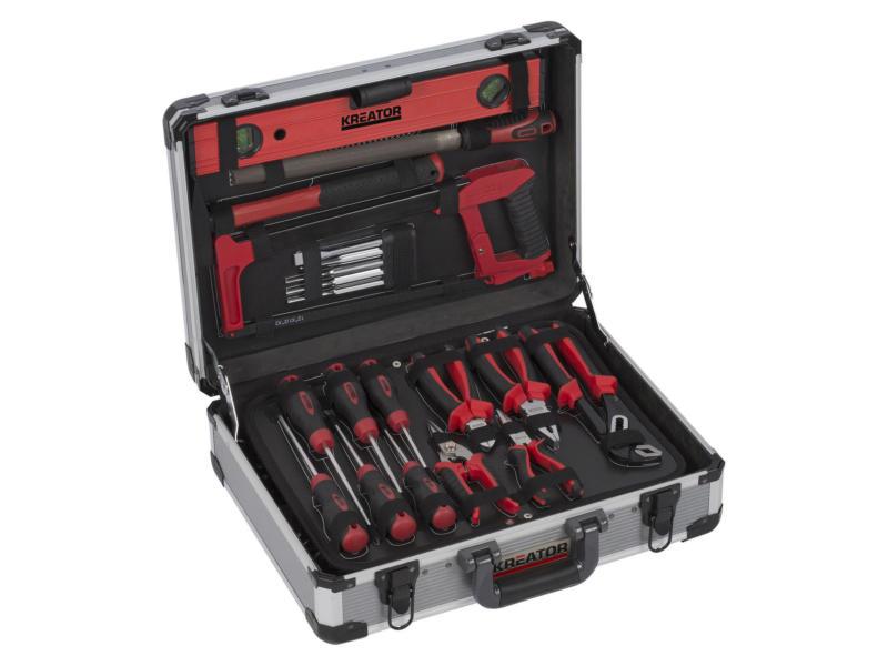 Kreator coffret d'outils 180 pièces