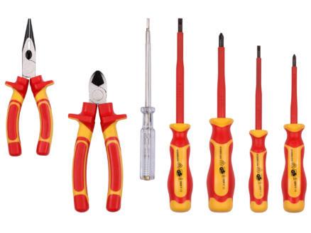 Kreator coffret d'outils 7 pièces