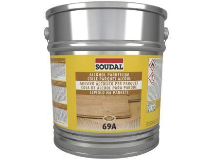 Soudal colle parquet alcool 69A 13kg beige