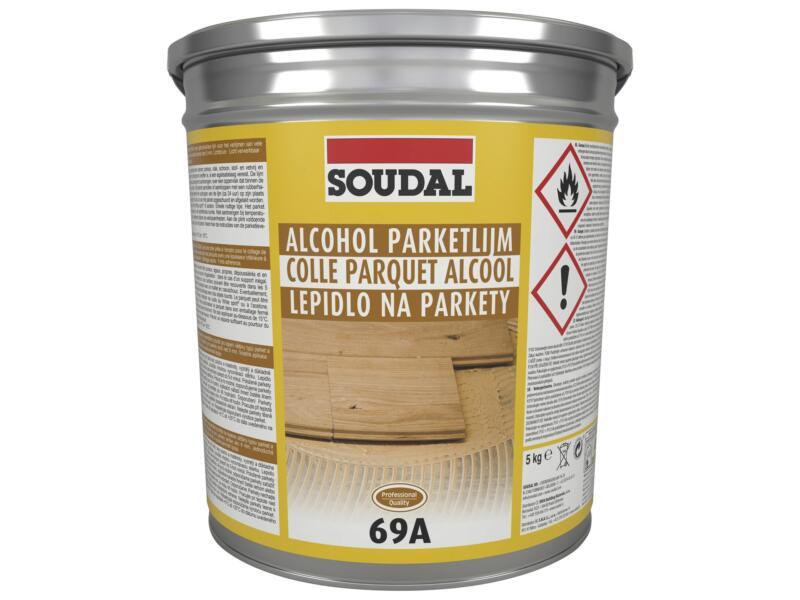 Soudal colle parquet alcool 69A 5kg beige
