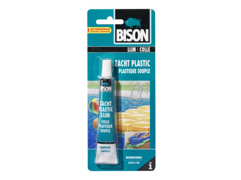 Bison colle plastique souple 25ml transparent