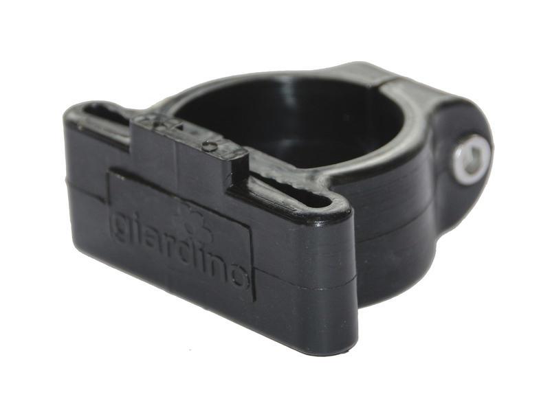 Giardino collier de coin poteau profilé 48mm 6 pièces noir