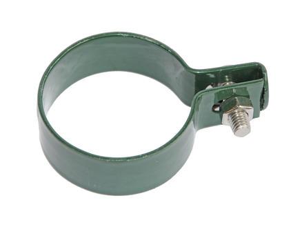 Giardino collier de fin pour poteau rond 48mm vert