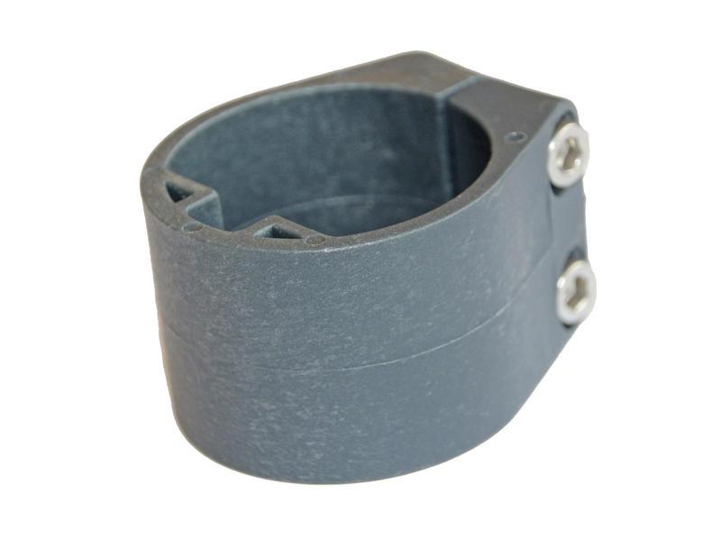 Giardino collier de milieu et de fin pour poteau profilé anthracite