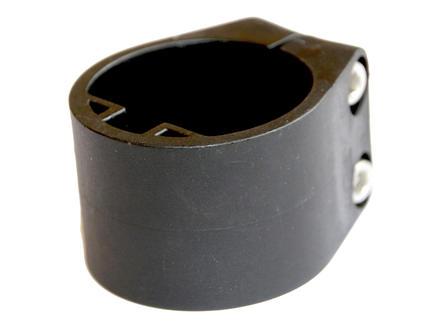 Giardino collier de milieu et de fin pour poteau profilé noir