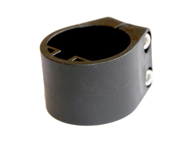 Giardino collier de serrage poteau profilé 48mm 6 pièces noir