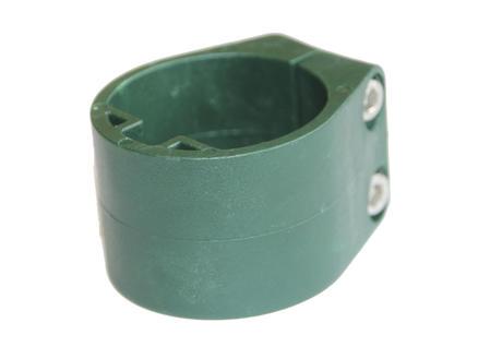 Giardino collier de serrage poteau profilé 48mm 6 pièces vert
