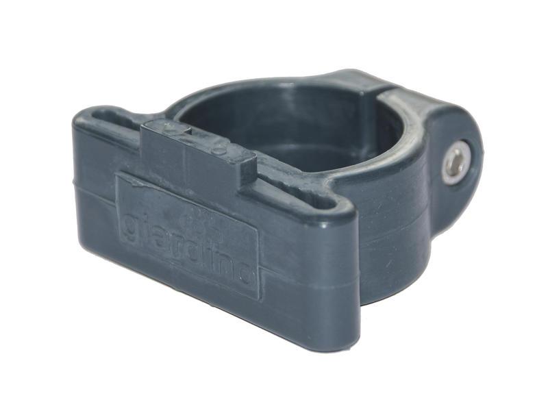 Giardino collier de serrage poteau profilé 48mm anthracite