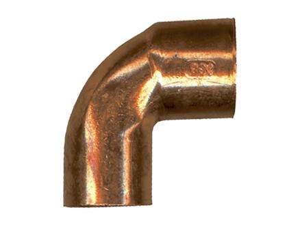 Saninstal coude 90° MF 10mm cuivre