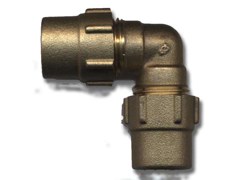 Saninstal coude bicône 15x15 mm gaz