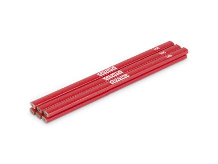 Kreator crayon de charpentier 24,5cm 6 pièces