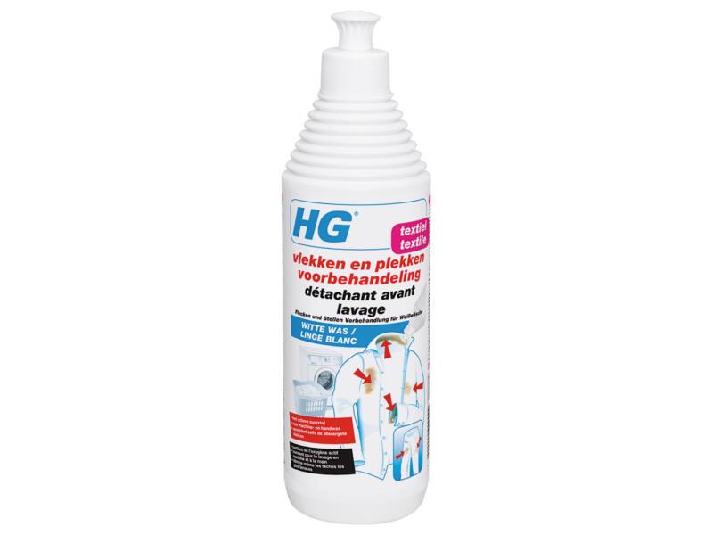 HG détachant avant lavage 0,5l linge blanc