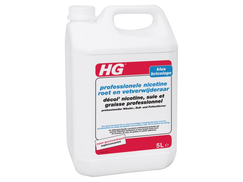HG détachant professionnel nicotine, suie et graisses 5l