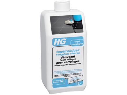 HG détergent haute brillance  carrelages 1l