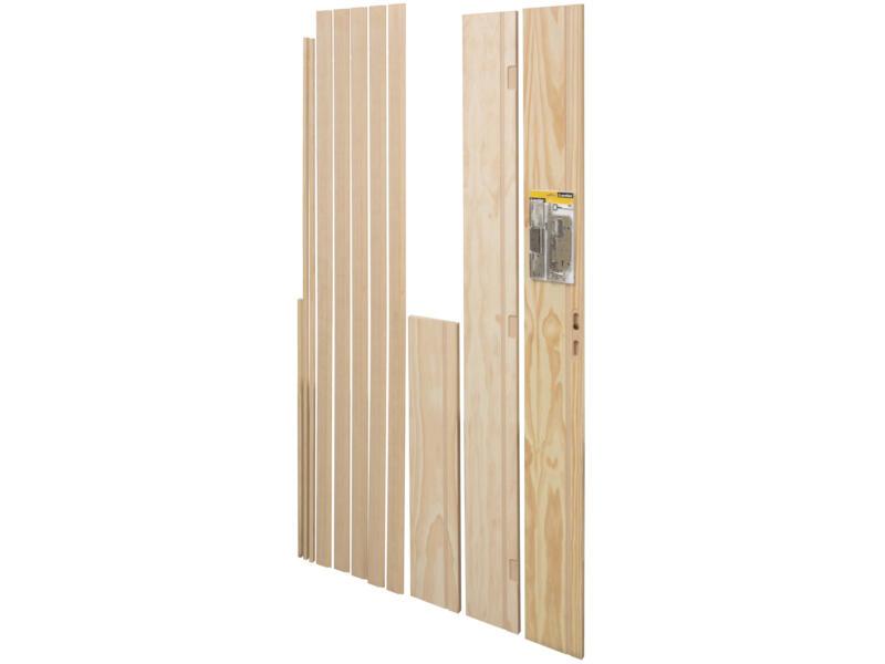 CanDo deurkassement 18x200 mm 216cm grenen bruin