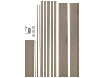 CanDo deurkast 211,5x20 cm eiken fineer