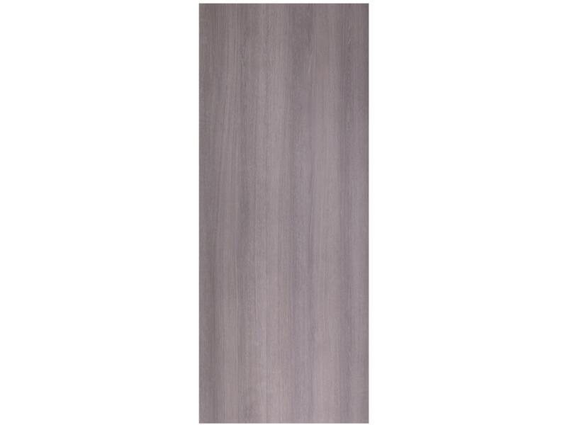 StoreMax deurpaneel 101x255 cm 8mm eiken grijs/donker grijs
