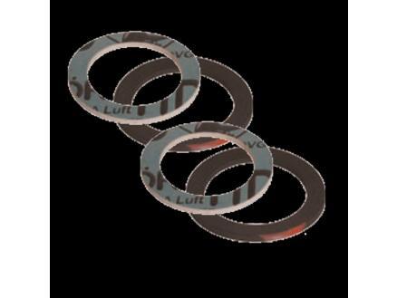Saninstal dichting set klingerit 24x34 mm 4 stuks