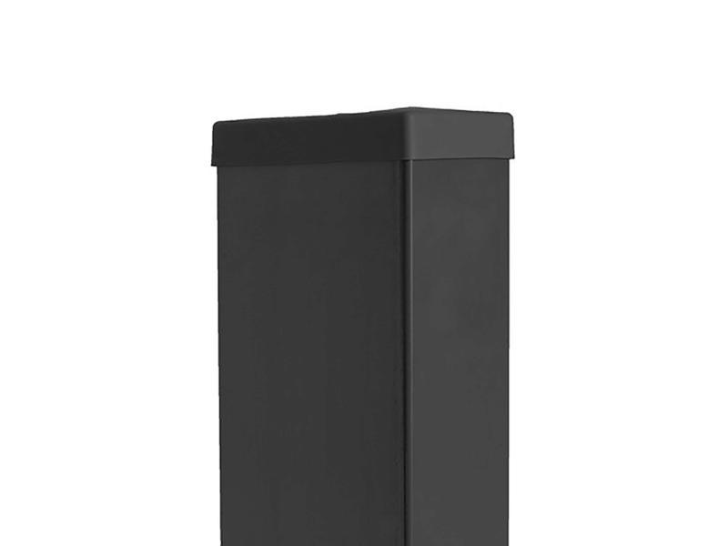 Giardino dop rechthoekige paal 120x60 mm antraciet