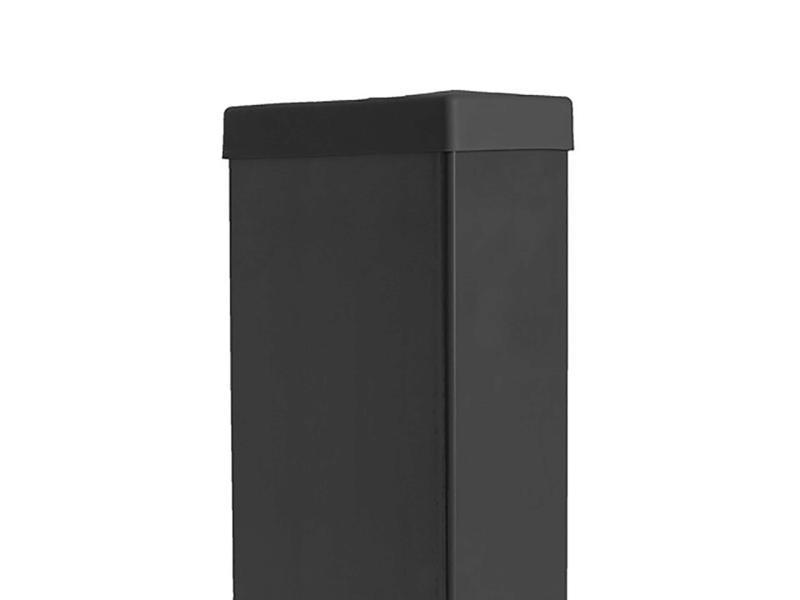 Giardino dop rechthoekige paal 120x60 mm zwart