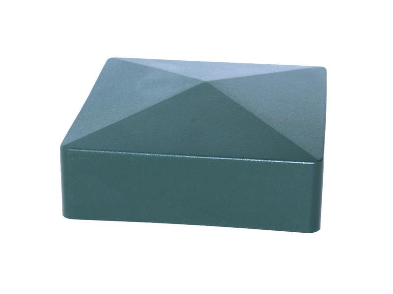 Giardino dop vierkante paal 60mm groen
