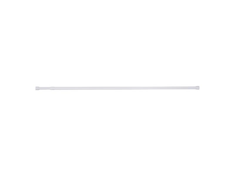 Differnz douchegordijnstang 125-220 cm rond wit