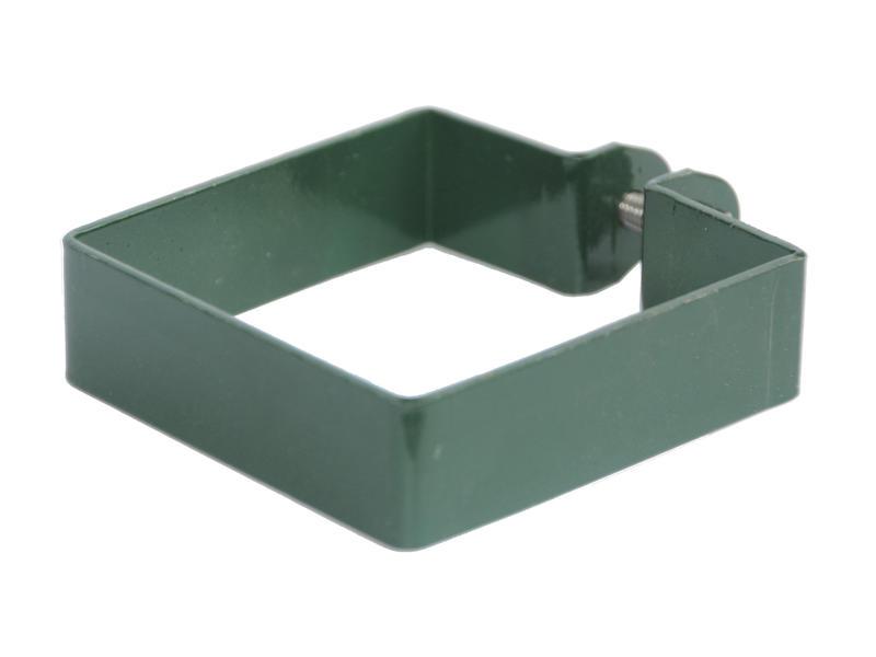 Giardino eindklem vierkante paal 80mm groen