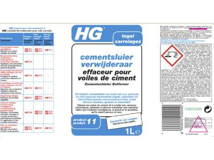 HG enlève voile de ciment 1l