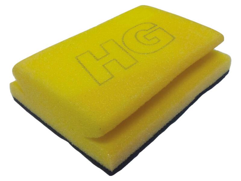 HG éponge à récurer sanitaire bleu/jaune