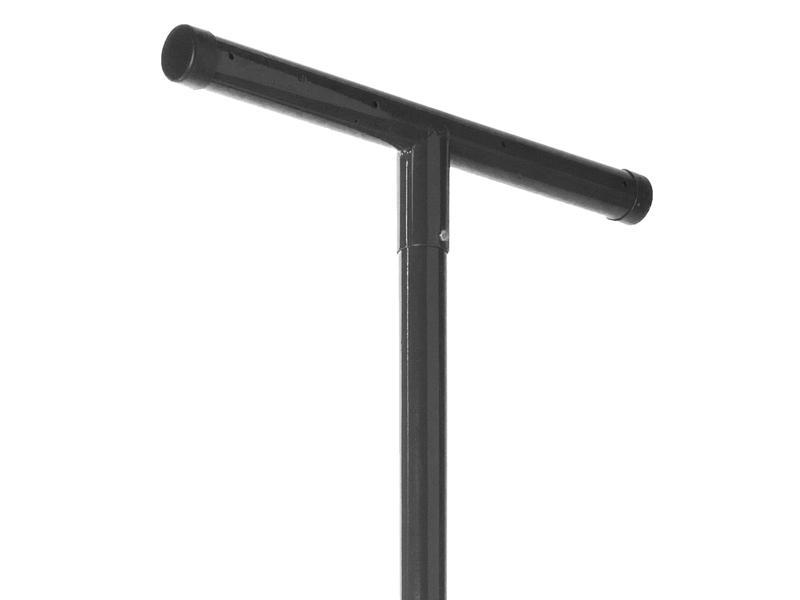 Giardino étendoir à linge 240x4,8 cm gris