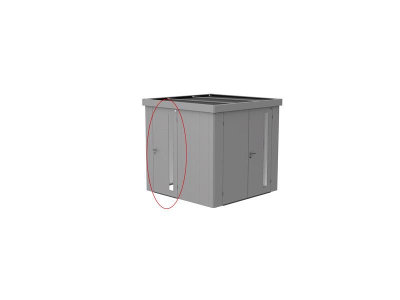 Biohort extra deur voor Neo zilver metallic