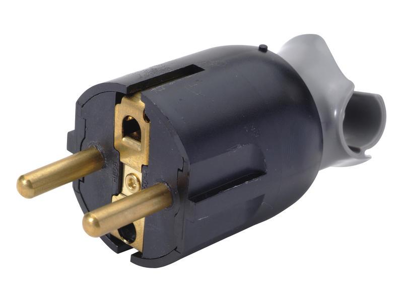 Legrand fiche avec orientation câble 16A noir