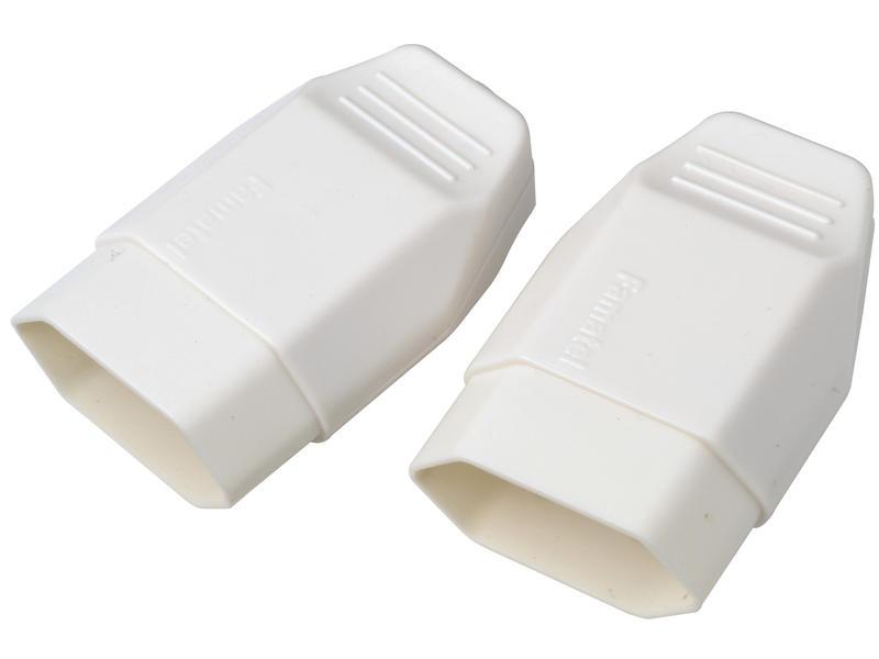 Legrand fiche femelle 2,5A blanc 2 pièces
