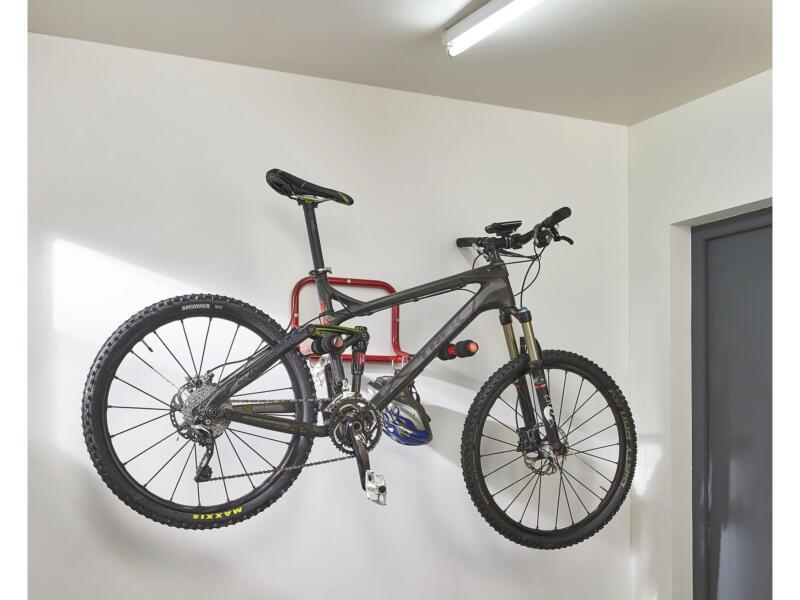 Mottez fietswandhouder inklapbaar 52cm
