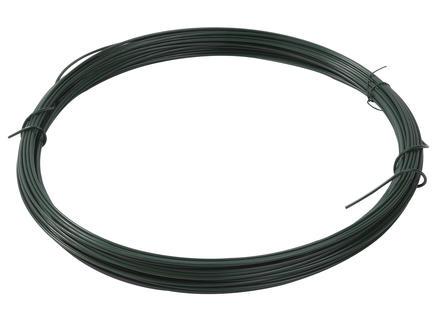 Giardino fil à ligature 25m 2mm plastifié vert