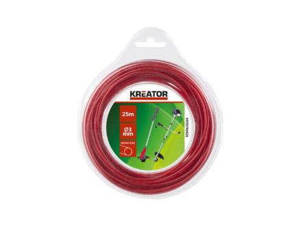 Kreator fil pour coupe-bordures 3mm 25m